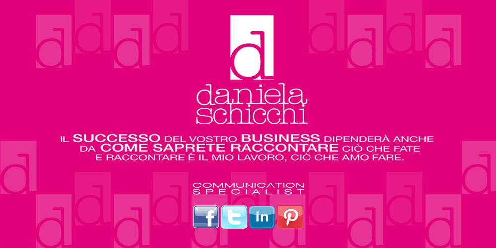 Daniela Schicchi Blogger&Communication Specialist