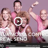 """5 ottobre: """"Party in Pink"""" contro il cancro"""
